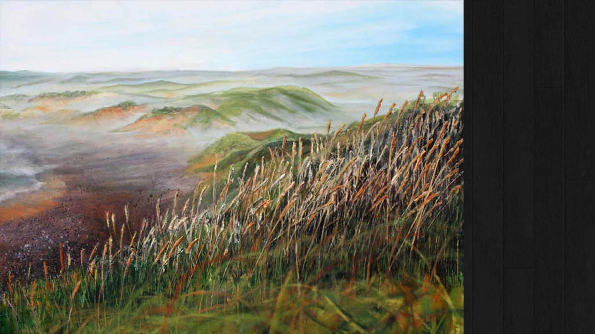 Early Morning Mist and Marram Grass © Jo Sheppard